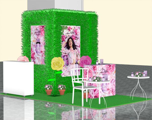 ドルチェ&ガッバーナの新作香水「ドルチェピオニー」発売記念イベント